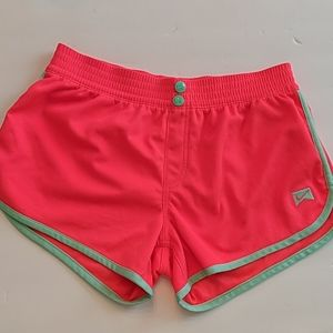 Nike hot pink athletic shorts